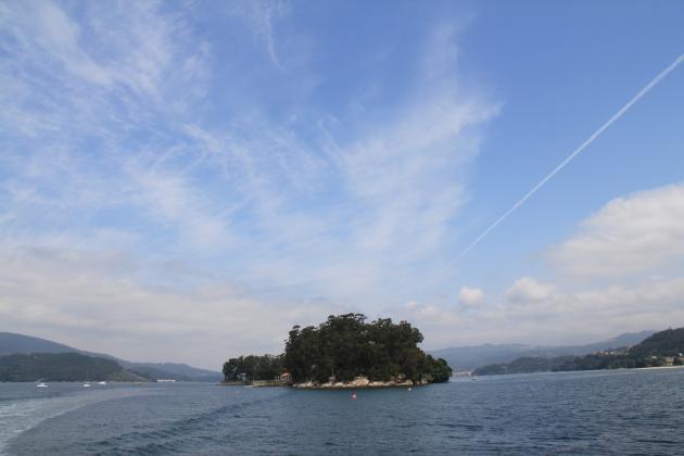 Vista de la Isla San Simón