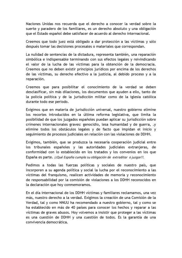 DDHH Declaración de los derechos humanos