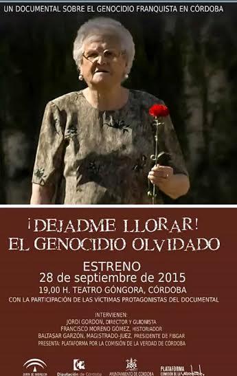 El genocidio en Córdoba